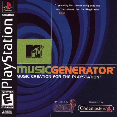 [PSX-PSP] MTV Music Generator