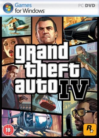 GTA 4 / Grand Theft Auto IV in style V (v.4)